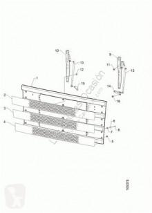 Pièces de carrosserie Scania Calandre pour tracteur routier Serie 4 (P/R 164 L)(2001->) FG 480 (4X2) E3 [15,6 Ltr. - 353 kW Diesel]