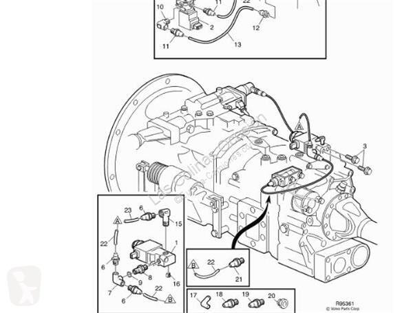 Voir les photos Pièces détachées PL Volvo FL Boîte de vitesses pour camion   611 FG 611-150