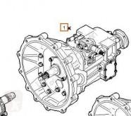 Repuestos para camiones Iveco Eurocargo Boîte de vitesses pour camion tector Chasis (Modelo 75 E 15) [3,9 Ltr. - 110 kW Diesel] transmisión caja de cambios usado