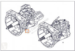 قطع غيار الآليات الثقيلة نقل الحركة علبة السرعة nc Boîte de vitesses pour camion MERCEDES-BENZ ATEGO 815 K