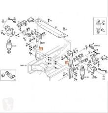 Repuestos para camiones suspensión suspensión de ballestas suspensión de ballestas Iveco Stralis Ressort à lames pour tracteur routier AS 440S48