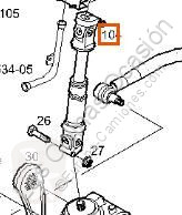 Crémaillère de direction Iveco Stralis Crémaillère de direction pour tracteur routier AS 440S48