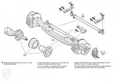 Repuestos para camiones dirección balancín de dirección Iveco Eurocargo Biellette de direction Bieleta Izquierda Direccion pour camion poubelle (03.2008->) FG 110 W Allrad 4x4