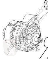 Alternator Alternateur pour automobile Saab 9-3 Berlina (2003->) 2002