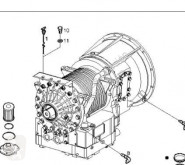 Peças pesados transmissão caixa de velocidades Iveco Stralis Boîte de vitesses pour camion AD 260S31, AT 260S31