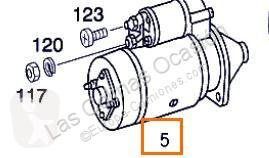 Repuestos para camiones sistema eléctrico sistema de arranque motor de arranque Démarreur pour camion MERCEDES-BENZ CLASE G (W461) 290 GD/G 290 D (461.337, 461.338)