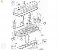 Volvo FH Culasse pour camion 12 asta 2001 E2 / E3 FG 4X2 E2/E3 [12,1 Ltr. - 309 kW Diesel (D12D420)] hlava válce použitý
