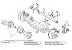 Suspension Iveco Essieu pour camion SuperCargo (ML) FKI 180 E 27 [7,7 Ltr. - 196 kW Diesel]