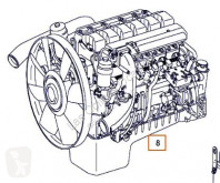 Repuestos para camiones OM Moteur 457 LA R6 pour camion MERCEDES-BENZ Axor 2 - Ejes Serie / BM 944 1843 4X2 motor usado