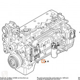 Двигател Iveco Tector Moteur F4AE0681E pour camion EuroCargo FKI (Typ 100 E 18) [5,9 Ltr. - 130 kW Diesel]