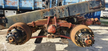 Suspensão de molas Renault Double Axle Cube Reduced Steel Suspension