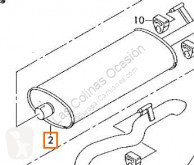 Volkswagen重型卡车零部件 Pot d'échappement pour camion LT 28-46 II Caja/Chasis (2DX0FE) 2.8 TDI 二手