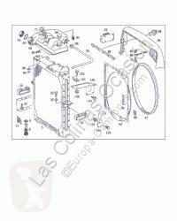 Peças pesados sistema de arrefecimento OM Radiateur de refroidissement du moteur pour camion MERCEDES-BENZ MK / SK 441 LA 2527 BM 653 6X4 [11,0 Ltr. - 249 kW V6 Diesel ( 441 LA)]