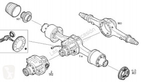 Peças pesados Iveco Eurotech Différentiel pour camion (MP) FSA (400 E 34 ) [9,5 Ltr. - 254 kW Diesel] usado
