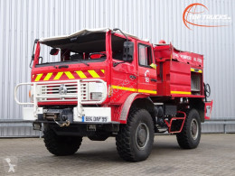Renault fire truck M 210 Midliner fire brigade - brandweer - watertank 3500 - Ongeval, Unfall, Accident!!