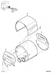 Peças pesados DAF XF105 Pot d'échappement pour camion Serie usado