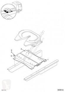 Repuestos para camiones quinta rueda DAF Sellette d'attelage pour tracteur routier Serie XF105.XXX