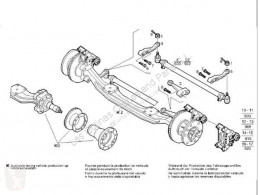 Zacisk hamulca Iveco Stralis Étrier de frein Pinza Freno Eje Delantero Derecho AS 440S48 pour tracteur routier AS 440S48