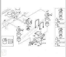 Repuestos para camiones Iveco Stralis Suspension pneumatique Viga Suspension Neumatica Eje Trasero Derecha AS 4 pour tracteur routier AS 440S48 usado