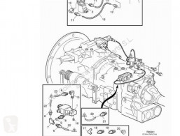 Repuestos para camiones transmisión caja de cambios Volvo FL Boîte de vitesses Caja Cambios Manual 611 FG 611-220 162 KW Interc. E3 pour camion 611 FG 611-220 162 KW Interc. E3 [5,5 Ltr. - 162 kW Diesel]