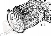 Boîte de vitesse Iveco Stralis Boîte de vitesses Caja Cambios Manual AS 440S48 pour camion AS 440S48