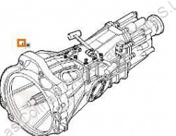 Iveco Daily Boîte de vitesses Caja Cambios Manual III 35C10 K, 35C10 DK pour camion III 35C10 K, 35C10 DK коробка передач б/у