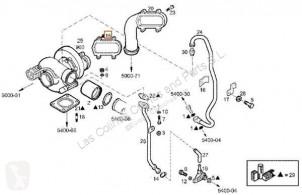 Części zamienne do pojazdów ciężarowych Iveco Daily Turbocompresseur de moteur Turbo I 40-10 W pour camion I 40-10 W używana