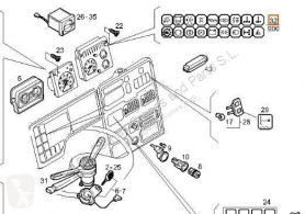 Elektroinstalacje Iveco Daily Tableau de bord Cuadro Instrumentos I 40-10 W pour camion I 40-10 W