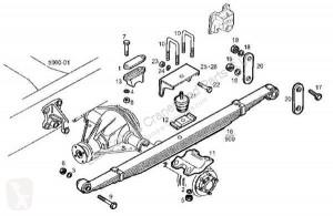 Repuestos para camiones suspensión suspensión de ballestas suspensión de ballestas Iveco Daily Ressort à lames Ballesta Eje Trasero Izquierda I 40-10 W pour tracteur routier I 40-10 W