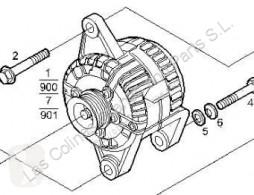 Repuestos para camiones Iveco Daily Alternateur Alternador III 35C10 K, 35C10 DK pour camion III 35C10 K, 35C10 DK usado