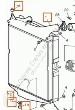 Repuestos para camiones Volvo FM Radiateur de refroidissement du moteur Radiador 7 7/290 pour tracteur routier 7 7/290 usado