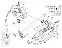 Peças pesados Renault Premium Turbocompresseur de moteur Turbo Distribution 300.26D pour camion Distribution 300.26D usado