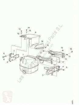 Échappement Scania Pot d'échappement SILENCIADOR Serie 4 (P/R 164 L)(2001->) FG 480 (4X2 pour tracteur routier Serie 4 (P/R 164 L)(2001->) FG 480 (4X2) E3 [15,6 Ltr. - 353 kW Diesel]