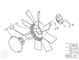 Repuestos para camiones sistema de refrigeración ventilador Scania Ventilateur de refroidissement Ventilador Viscoso Serie 4 (P/R 164 L)(2001->) FG 4 pour tracteur routier Serie 4 (P/R 164 L)(2001->) FG 480 (4X2) E3 [15,6 Ltr. - 353 kW Diesel]