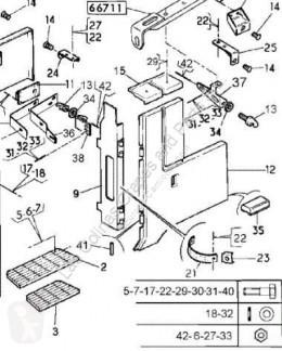 Teherautó-alkatrészek Renault Magnum Aileron SPOILER LATERAL IZQUIERDO E-Tech 2000 -> Chasi pour camion E-Tech 2000 -> Chasis 4 X 2 [12,0 Ltr. - 324 kW Diesel] használt