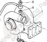 Pièces détachées PL Renault Premium Turbocompresseur de moteur Turbo Route 300.18 pour camion Route 300.18 occasion
