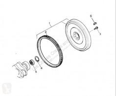 Renault Midlum Volant moteur Volante Motor 220.18/D pour camion 220.18/D volano frizione / carter usato
