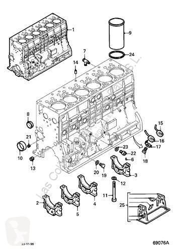 Vedere le foto Ricambio per autocarri DAF Bloc-moteur Bloque  95 XF FA 95 XF 430 pour camion  95 XF FA 95 XF 430