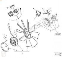 Piese de schimb vehicule de mare tonaj Renault Magnum Ventilateur de refroidissement Ventilador Viscoso DXi 12 440.18 T pour camion DXi 12 440.18 T second-hand