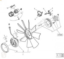 Repuestos para camiones Renault Magnum Ventilateur de refroidissement Ventilador Viscoso DXi 12 440.18 T pour camion DXi 12 440.18 T usado