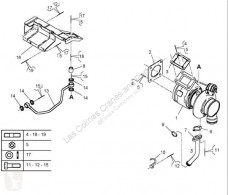 雷诺Midlum重型卡车零部件 Turbocompresseur de moteur Turbo 220.16 pour camion 220.16 二手