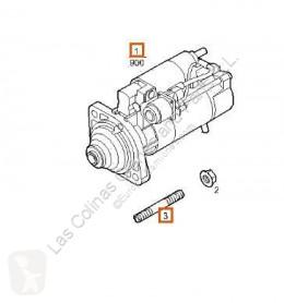 Iveco starter Trakker Démarreur Motor Arranque Cabina adelant. volquete 260 (6x pour camion Cabina adelant. volquete 260 (6x4) [7,8 Ltr. - 259 kW Diesel]