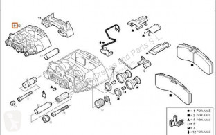 Bremsekaliper Iveco Trakker Étrier de frein Pinza Freno Eje Delantero Derecho Cabina adelant. pour tracteur routier Cabina adelant. volquete 260 (6x4) [7,8 Ltr. - 259 kW Diesel]