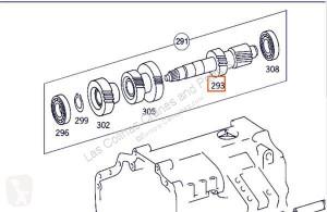 Карданен вал OM Arbre de transmission Arbol De Transmision Intermedio Mercedes-Benz Axor 2 - Ejes Se pour camion MERCEDES-BENZ Axor 2 - Ejes Serie / BM 944 1843 4X2 457 LA [12,0 Ltr. - 315 kW R6 Diesel ( 457 LA)]
