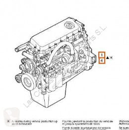 Iveco Eurotech Moteur Motor Completo (MP) FSA (440 E 4 pour camion (MP) FSA (440 E 43) [10,3 Ltr. - 316 kW Diesel] used motor