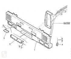 Peças pesados Renault Magnum Pare-chocs Paragolpes Delantero E.TECH 440.18 pour camion E.TECH 440.18 usado