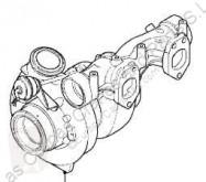 قطع غيار الآليات الثقيلة DAF Turbocompresseur de moteur Turbo XF 105 FA 105.510 pour camion XF 105 FA 105.510 مستعمل