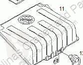 Repuestos para camiones sistema eléctrico batería MAN TGA Boîtier de batterie Tapa Baterias 18.480 FAC pour tracteur routier 18.480 FAC