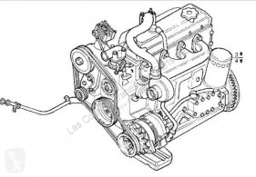 Motor Iveco Eurocargo Moteur Motor Completo Chasis (Typ 75 E 12) [3,9 Ltr pour camion Chasis (Typ 75 E 12) [3,9 Ltr. - 85 kW Diesel]