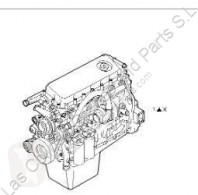 Motor Iveco Stralis Moteur Motor Completo AS 440S48 pour tracteur routier AS 440S48